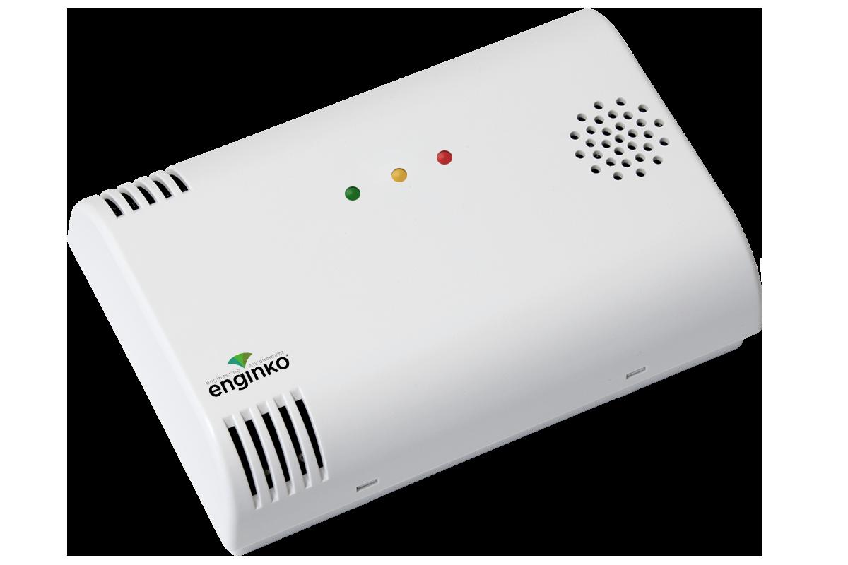 Sensore Ambientale indoor LoRaWAN<sup>®</sup> VOC/Lux/CO2 con led